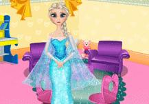 décorer la chambre de la princesse elsa
