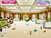 Jeux de ménage dans un hotel
