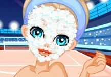 maquillage de pom pom girl