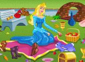pique  nique de princesse