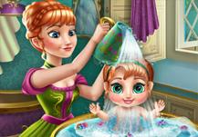 princesse Anna et son bébé